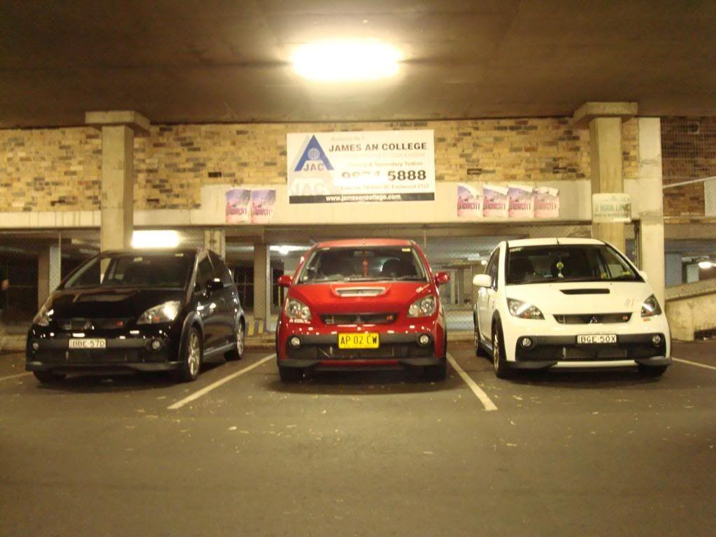 Edge Racing Team Sydney Meet! DSC01426