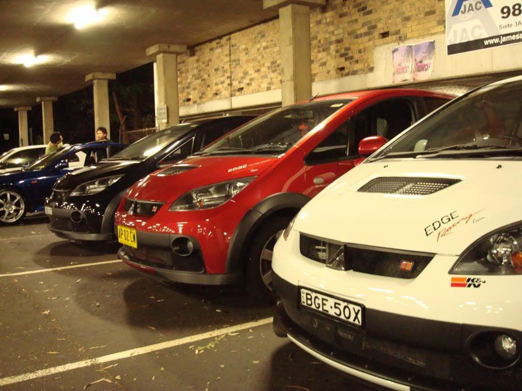 Edge Racing Team Sydney Meet! DSC01427