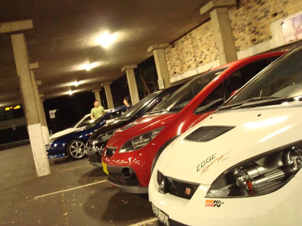 Edge Racing Team Sydney Meet! DSC01428