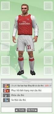 Những tính năng cơ bản của Fifa Online 2 Image005