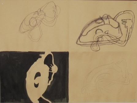 Blind, Gesture, Negative, Controlled drawing - Grade 9 DOBSONSIERRAJENE-1