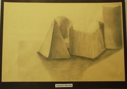 Observation Drawing Perceiving Tones - Grade 9 DOLLEY