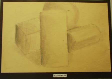 Observation Drawing Perceiving Tones - Grade 9 HAVY