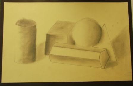 Observation Drawing Perceiving Tones - Grade 9 JEANNGUYENDEAN-2