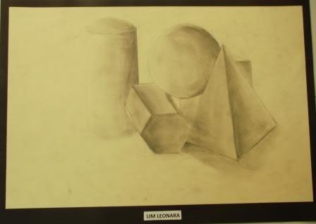 Observation Drawing Perceiving Tones - Grade 9 LEONARA