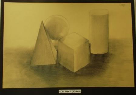 Observation Drawing Perceiving Tones - Grade 9 MINJI