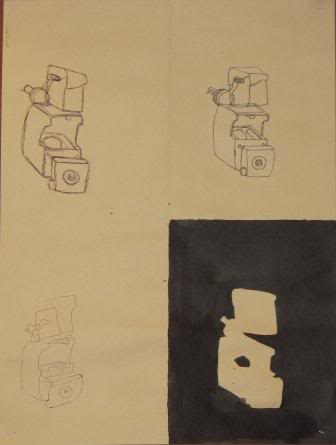 Blind, Gesture, Negative, Controlled drawing - Grade 9 PHANNGOCTHANH