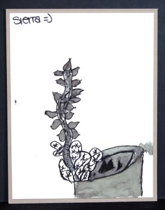 Pen and ink Sierra-1