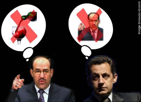 Enfin ! l'ELysée se rachète de ses salamalecs à Khadafi.... Sarko-maliki