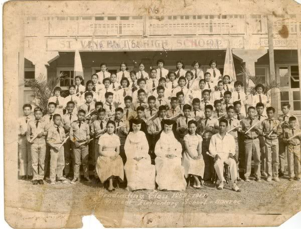 Class Pictures of the Different Batches 1959-61