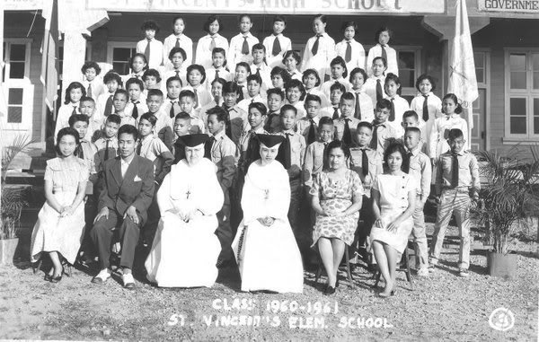Class Pictures of the Different Batches 1960-61