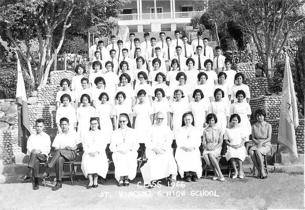 Class Pictures of the Different Batches 1966