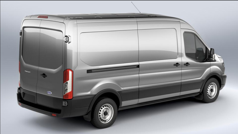 2013 - [Ford] Transit (Connect & MaxiVan) - Page 2 2014_Transit_rearquarter