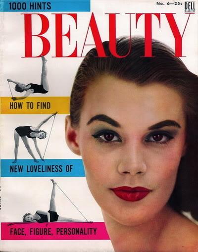 Soda Jerk & Fashion Model ~ Leonie Vernet 1950s B4B_LeonieVernet_1955_1000HintsBeau