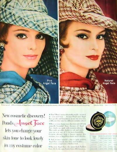 Model History ~ The Cover Girl Look  1961 Beauty Ads Blog_1961_Angel_Face
