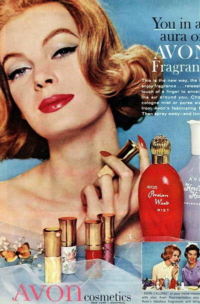 Model History ~ The Cover Girl Look  1961 Beauty Ads Blog_1961_Avon_Nena_von_Schlebrugge