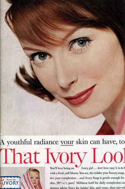 Model History ~ 1961 Beauty Ads Blog_1961_BathBody_Ivory_1961