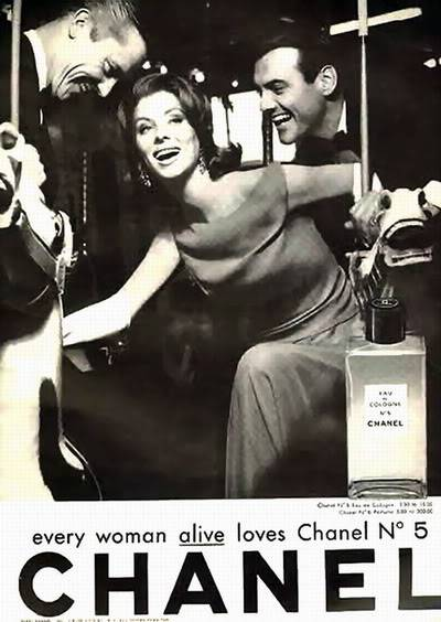 Model History ~ The Cover Girl Look  1961 Beauty Ads Blog_1961_Chanel_1961_July_Mlle_Suzy_Parker