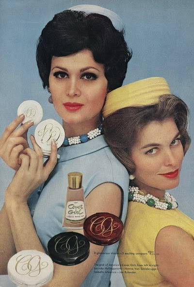 Model History ~ The Cover Girl Look  1961 Beauty Ads Blog_1961_Cover_Girl_1961_IsabellaA_JanRylander_BP