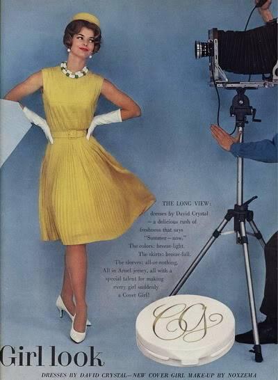 Model History ~ The Cover Girl Look  1961 Beauty Ads Blog_1961_Cover_Girl_1961_JanRylander2_BP