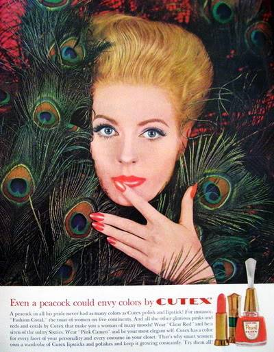 Model History ~ 1961 Beauty Ads ~ Cutex - Revlon Blog_1961_Cutex_1961_Aug_LHJ_p17_Angela_Howard