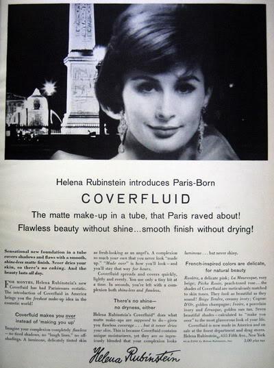 Model History ~ 1961 Beauty Ads ~ Cutex - Revlon Blog_1961_HelenaR_1961_Apr_Bazaar_TamaraN_CoverFluid
