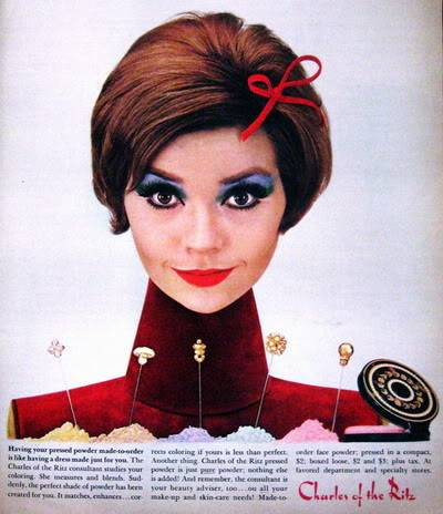 Model History ~ 1961 Beauty Ads Blog_1961_Makeup_CharlesRitz_1961_Sept_17