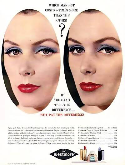 Model History ~ 1961 Beauty Ads Blog_1961_Makeup_Westmore_1961_LucindaH_BP