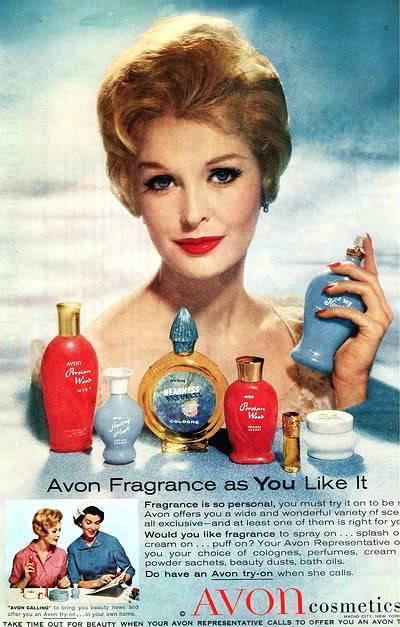 Sara Thom Beauty Ads ~ 1958 & 1959 Blog_Avon_1959_SaraT1