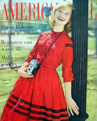 Brooke Bundy ~ 1950s American Girl Blog_BrookeBundy_1959_Aug_AmGirl_Cover