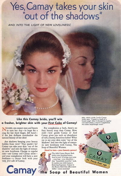 FORTIES/FIFTIES SUPER MODELS - Click Here Blog_Camay_1952_JeanP_Bride_MrsLoui