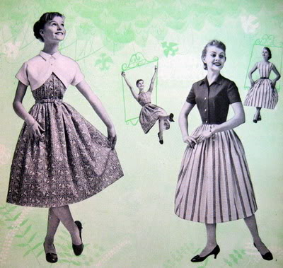 1950s Easter Ensembles ~ Carol Lynley & Sandra Dee Blog_CarolL_1956_Apr_AmGirl_Young_C