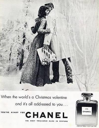 Chanel Christmas Ads ~ 1939-1969 Blog_Chanel_1956_MilliePerkins_Xmas_BP