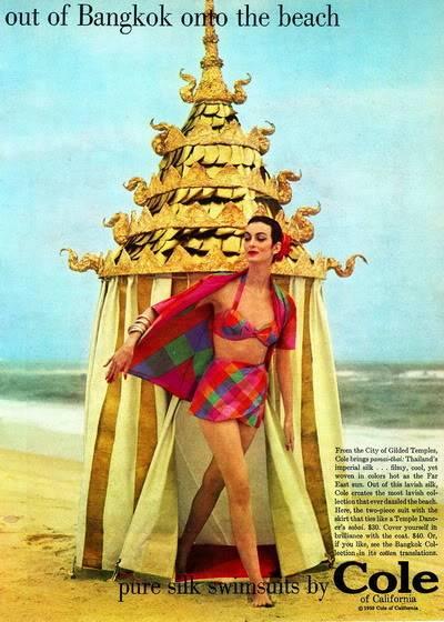 Cole of California ~ Carmen Dell'Orefice Blog_Cole_1950s_CarmenDO_Bangkok