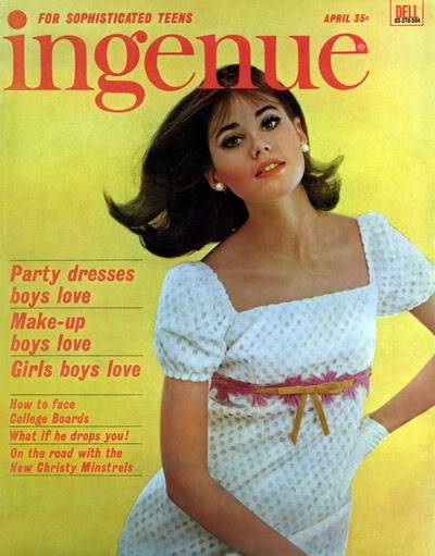 Colleen Corby ~ From Teen Model to High Fashion Model Blog_ColleenC_1965_Apr_Ingenue_Cover