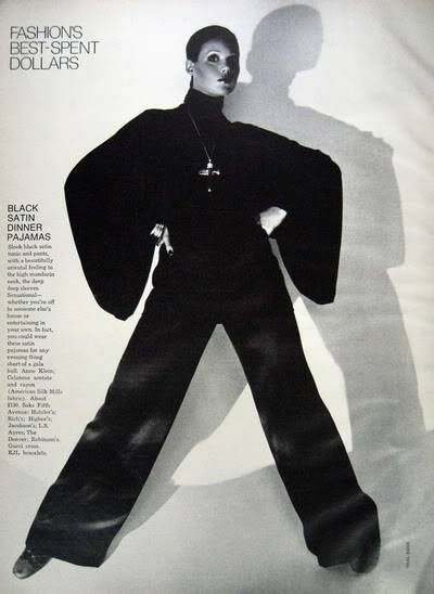 Colleen Corby ~ From Teen Model to High Fashion Model Blog_ColleenC_1973_Nov_Bazaar_128_BlackPJs_NealBarr