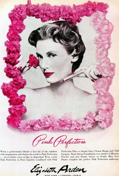 NEW Elizabeth Arden Ads ~ 1932-1974 Blog_Elizabeth_Arden_1953_MaryJaneRussell_Pink_BP