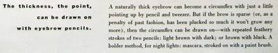 Evolution of Eyebrows ~ 1940s-1970s Blog_Eyebrows_1952_June_Vogue_71_Ca
