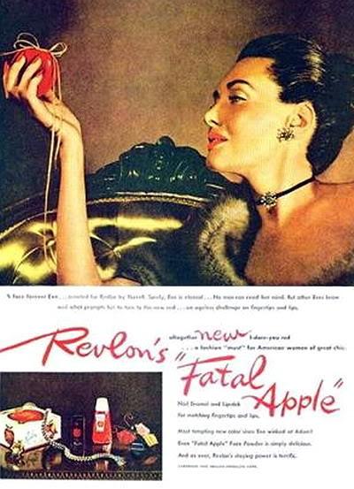 "Revlon's ""Fire & Ice""~ Dorian Leigh Blog_FireIce_1945_DorianL_FatalA-2"