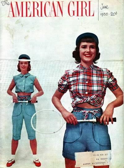 Helen Ryan Portfolio Album Blog_HelenR_1950_June_AmericanGirl_MargueriteBrubaker_OrmondGigli_Cover