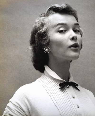 Helen Ryan in Black & White ~ 1950s-1960s Blog_HelenR_1950s_BlackBow_BW