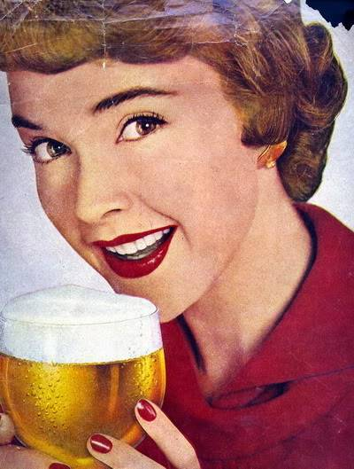Helen Ryan ~ From Junior Model to Housewife and Mother Blog_HelenR_1950s_Carling_Black_Label_Beer_Cropped