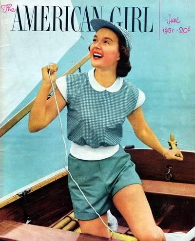 Helen Ryan Portfolio Album Blog_HelenR_1951_June_AmericanGirl_Kohn-Schneider_Cover
