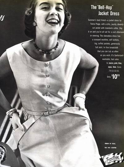 Helen Ryan ~ 1950s Teena Paige Ads Blog_HelenR_1951_May_17_TeenaPaige_BellHop