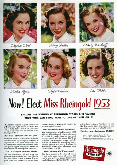Helen Ryan ~ Miss Rheingold Contest 1953 Blog_HelenR_1953_MissRheingoldContest_Ad1_TippiH_WinnerMaryAustin