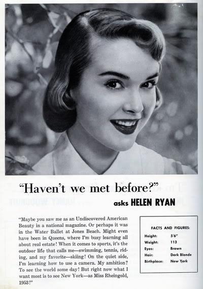 Helen Ryan ~ Miss Rheingold Contest 1953 Blog_HelenR_1953_MissRheingoldContest_Booklet_FactsFigures