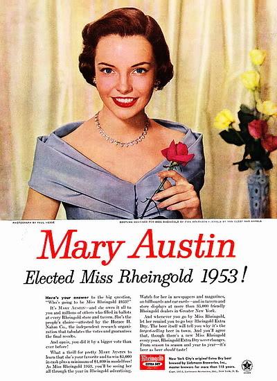 Helen Ryan ~ Miss Rheingold Contest 1953 Blog_HelenR_1953_MissRheingoldContest_WinnerMaryAustin