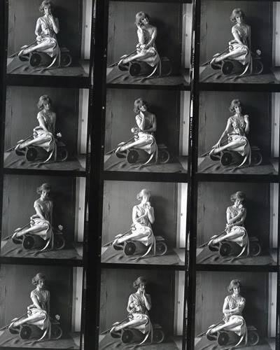 Helen Ryan in Black & White ~ 1950s-1960s Blog_HelenR_1960s_ContactSheet_Wagon1