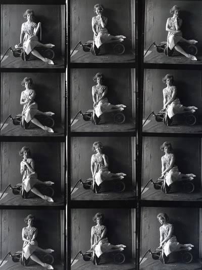 Helen Ryan in Black & White ~ 1950s-1960s Blog_HelenR_1960s_ContactSheet_Wagon2