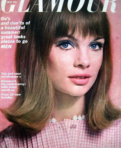 SIXTIES/SEVENTIES SUPER MODELS Blog_JeanS_1964_May_Glamour_Cover_D